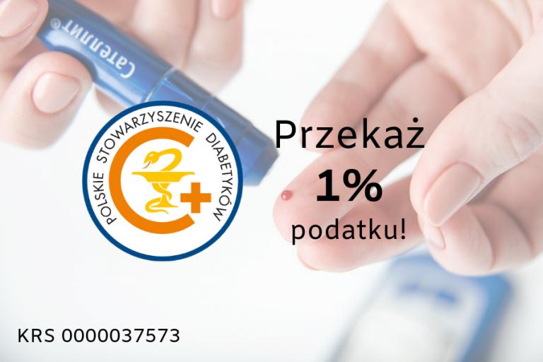 Przekaż podatek polskie stowarzyszenie diabetyków