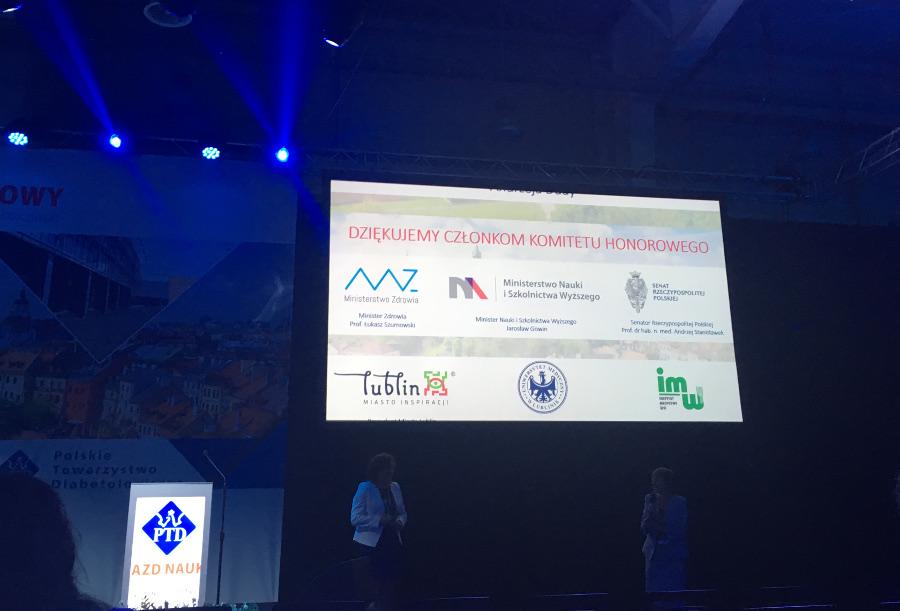 Członkowie komitetu honorowego PTD polskie towarzystwo diabetologiczne