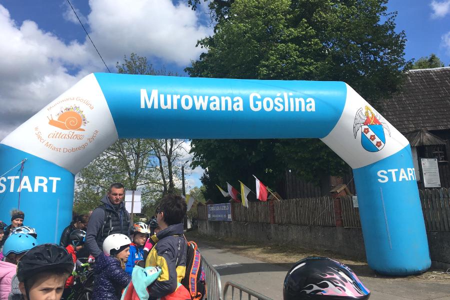 murowana goślina II Mistrzostwa MTB Cukrzyków w trakcie cukrzyca.pl