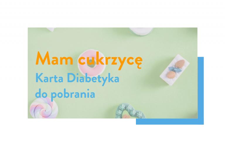 karta diabetyka do pobrania pobierz i wydrukuj cukrzyca
