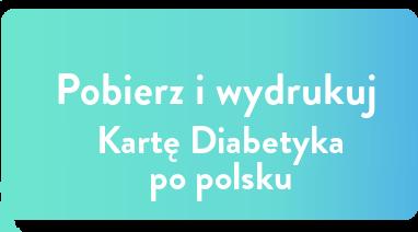 karta diabetyka pobierz i wydrukuj po polsku