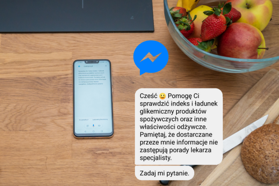 asystent google na messengerze