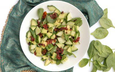 przekaska diabetyka salatka z ricotta i awokado