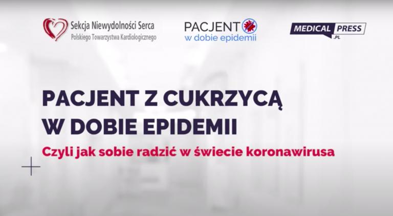 pacjent z cukrzycą w dobie epidemii