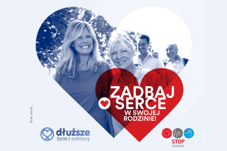 Zadbaj o serce w swojej rodzinie kampania edukacyjna cukrzyca pl