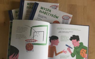 Wyspa diabetyków książka dla dzieci o cukrzycy